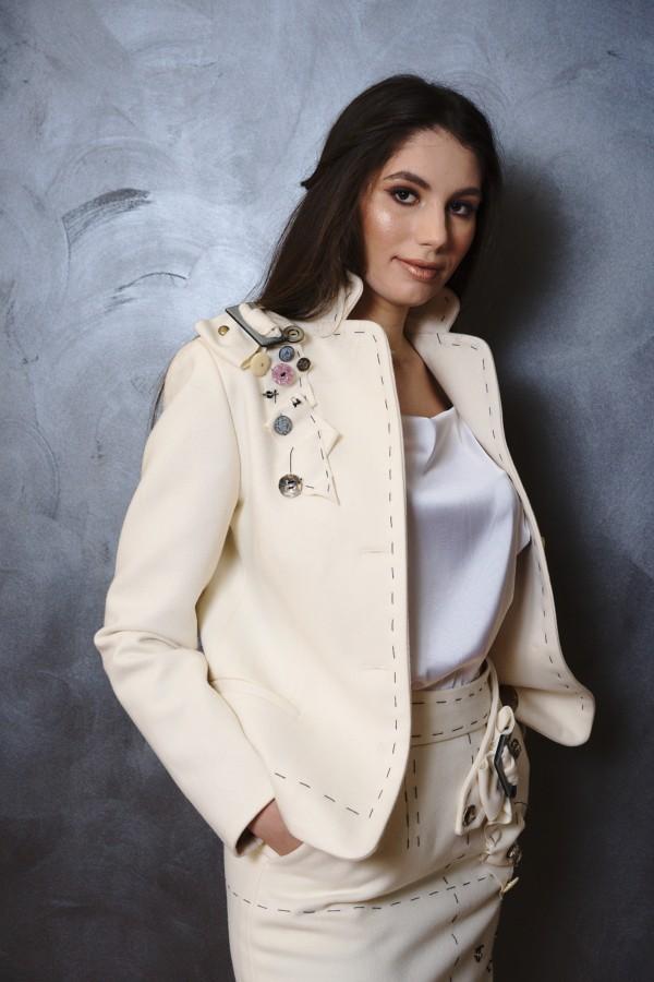 Jachetă din cașmir
