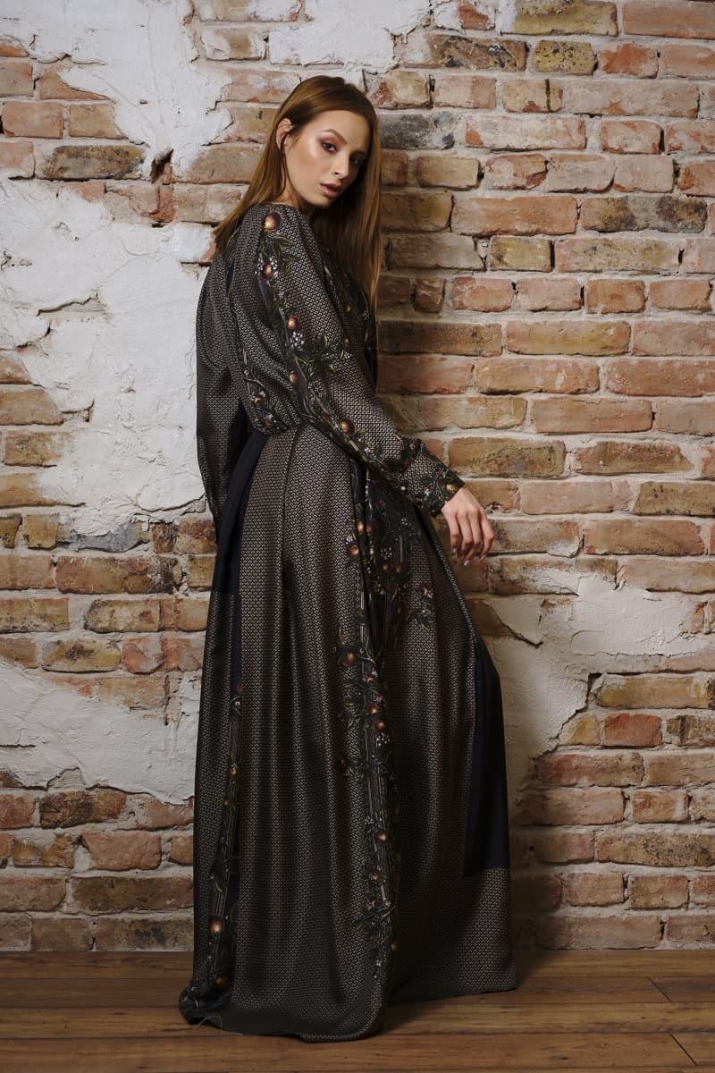 Rochie lungă din mătase naturală III